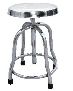 Sigma S.S. Revolving Stool with S.S. Top -SM-3001