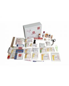 ST JOHNS First Aid All Purpose Kit Large - Vinyl Cardboard Box - SJF V1