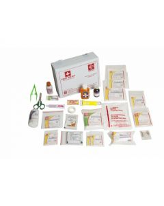 ST JOHNS First Aid All Purpose Kit Medium - Vinyl Cardboard Box - SJF V2