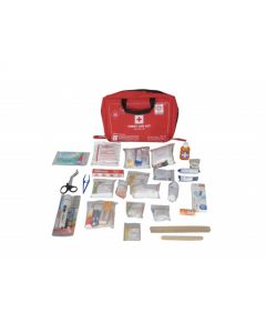 ST JOHNS First Aid Family Kit Large - Nylon 8 Pocket Bag - SJF F2