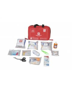 ST JOHNS First Aid Family Kit Small - Nylon 6 Pocket Bag - SJF F1