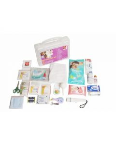 ST JOHNS First Aid New Parent Kit - Plastic Box Medium Handy - SJF NP