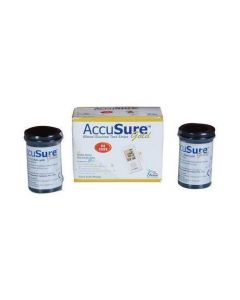 Strips For Accusure Glucose Monitor (Gold) Pack of 2 X 25