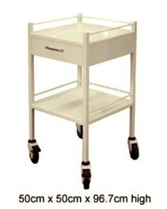 Surgihub INSTRUMENT TROLLEY POWDER COATED