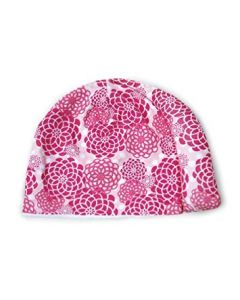 Tortle Repositioning Beanie - Small, Flowers Pink