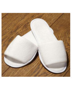 Dispo Slippers (TOWELLING) FRONT (Free size) Pair