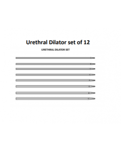 MEDICAL URETHRAL DILATOR SET OF 12