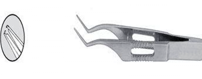 Jaywant Pierse Corneal Forcep Angled_00