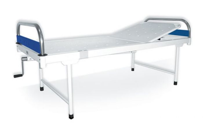 D4 Surgicals Semi-Fowler Bed (Deluxe) with Sunmica Panel_00
