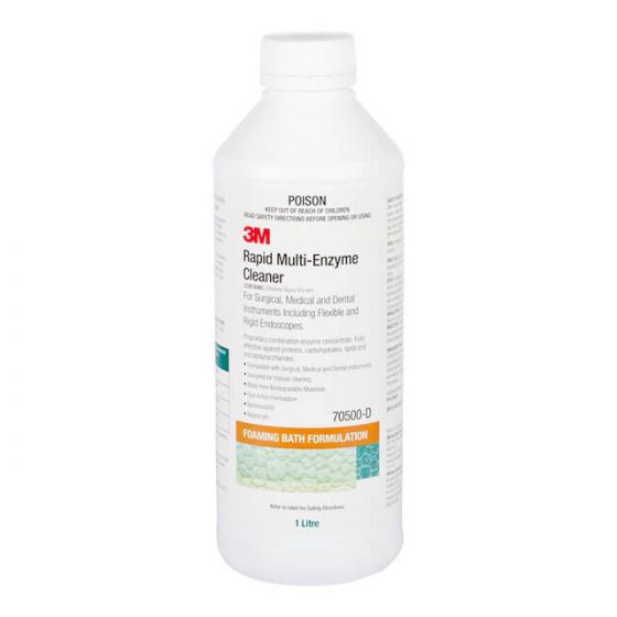 3M Rapid Multi-Enzyme Cleaner 70500 1 L