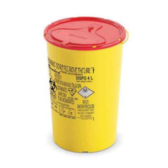 ARVS Sharps Containers Dispo Line (4 Ltr)