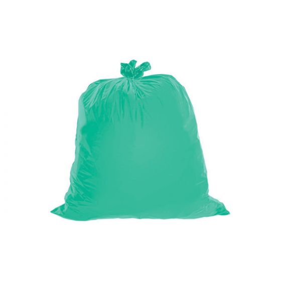 Biobag Bio Medical Waste Collection Bag  Green, Size : 29x36