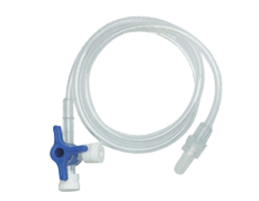 PROVALVE XL 3-WAY STOP COCK WITH EXTENSION LINE 1032_00