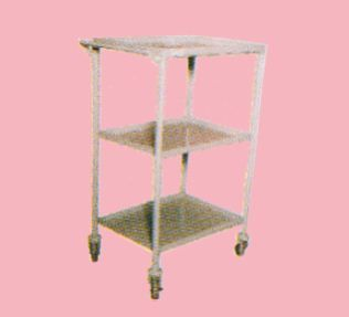 AMI Ami Mobile Trolley - Three Compartments