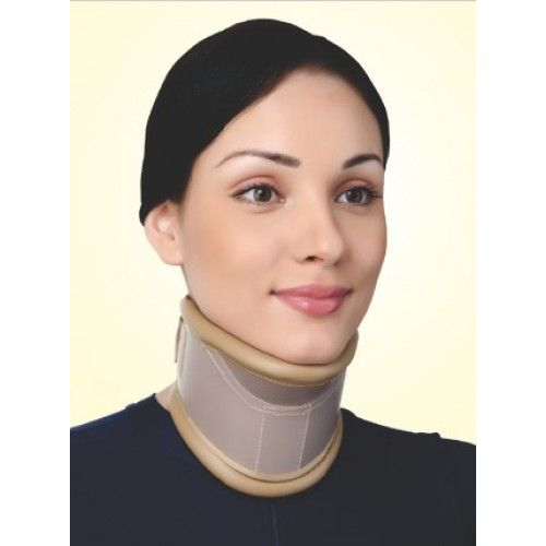 Flamingo Cervical Collar With Neck Support (Height Adjustable) OC 2190 (Medium)