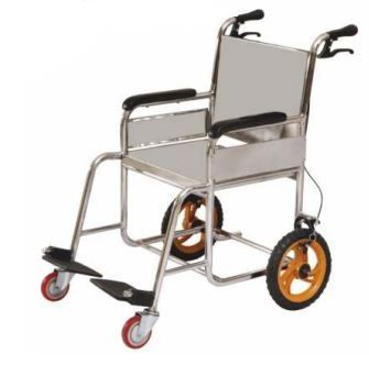 Eras Wheel Chair (Fixed) (SS 304) SS3-0033