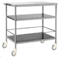 PMT Three tier instrument trolley - Complete S.S. 6053