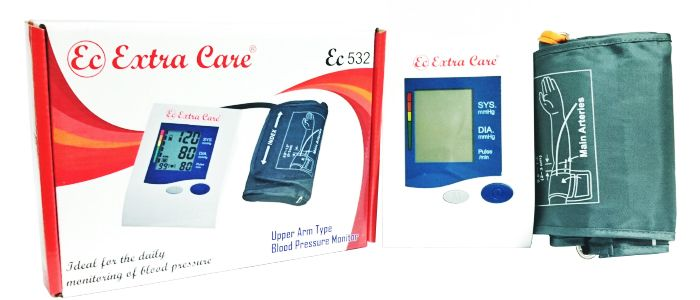 Extra Care Blood Pressure Monitor EC-532