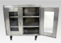 Pharma Technik S.S. Closed Cabinet (Small) with Shelves and Lockable Door