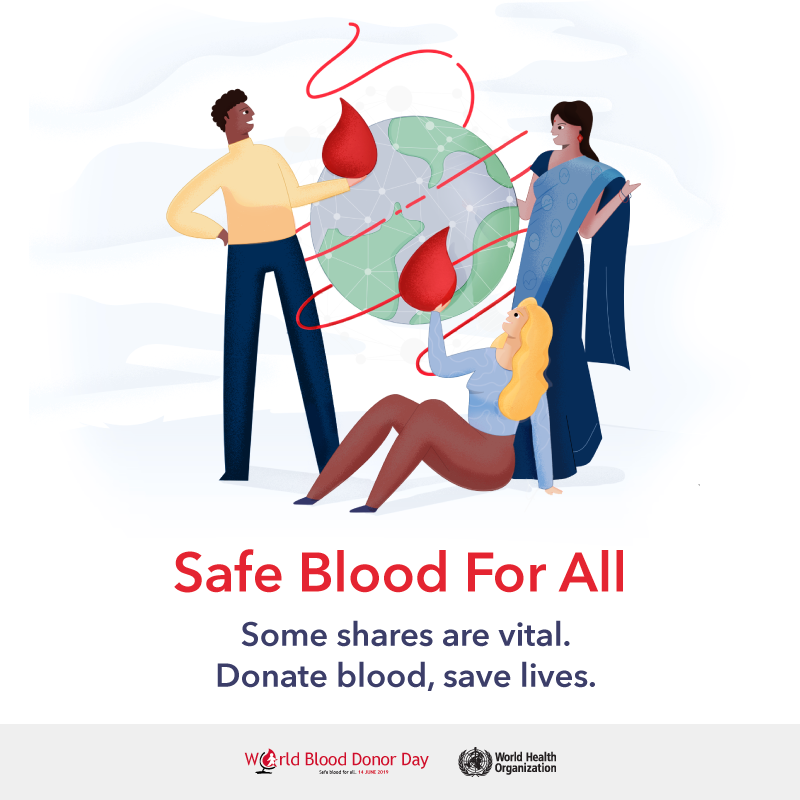 World Blood Donor Day 2019: What is it about and the Indian Scenario!